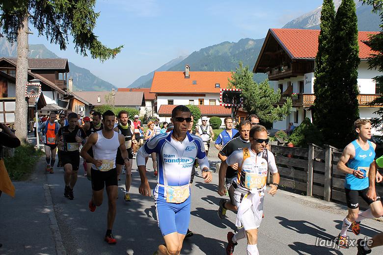 Zugspitzlauf - Start 2013