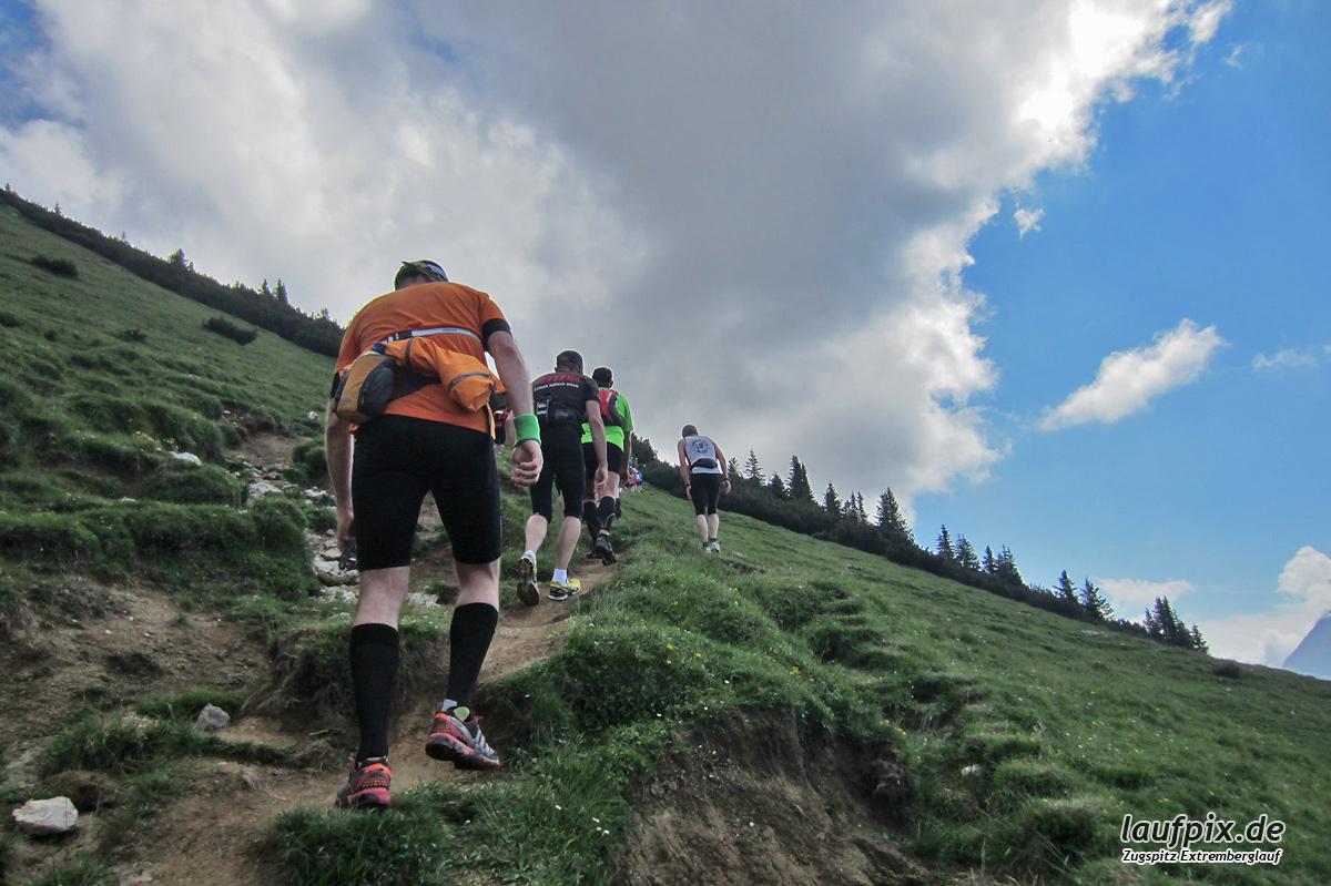 Zugspitzlauf - Strecke 2013 - 15