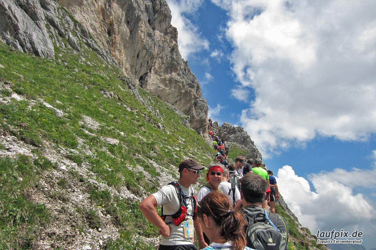 Zugspitzlauf - Strecke 2013 Foto (40)