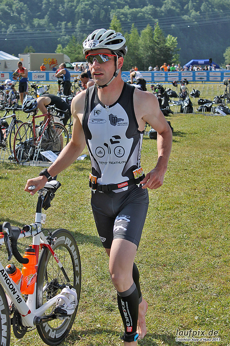 Triathlon Alpe d'Huez - Bike 2013 Foto (3)