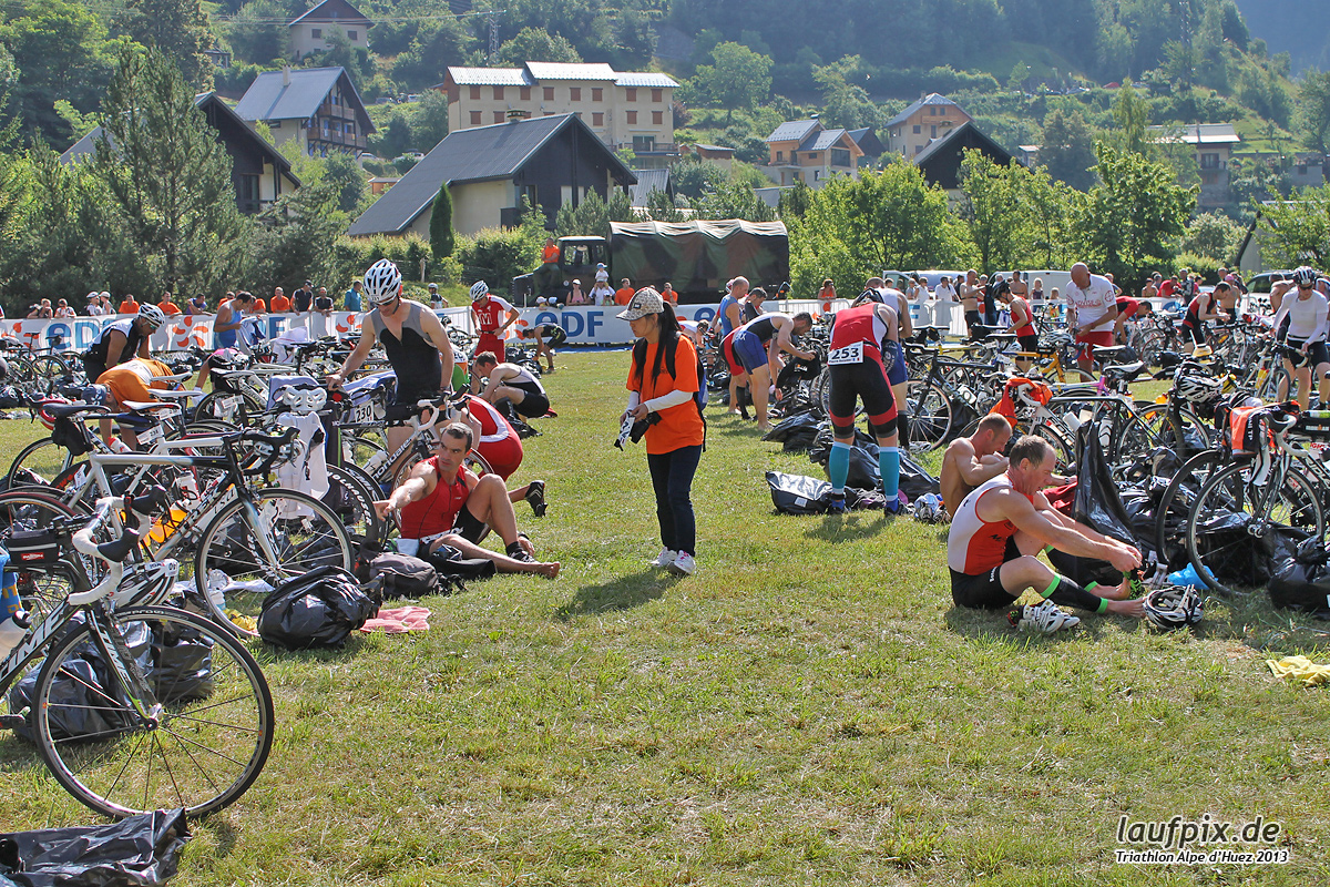Triathlon Alpe d'Huez - Bike 2013 Foto (5)