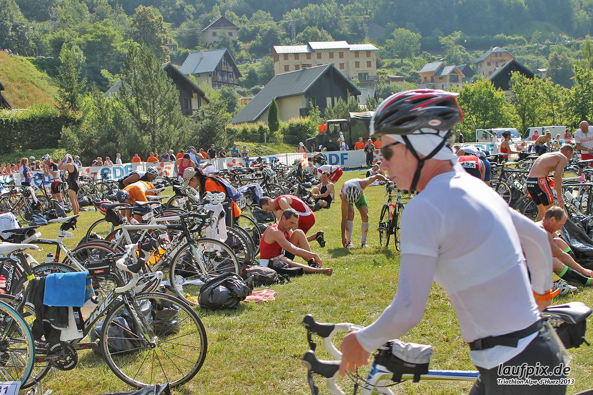 Triathlon Alpe d'Huez - Bike 2013 Foto (9)