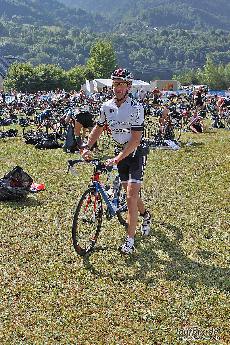 Triathlon Alpe d'Huez - Bike 2013 Foto (10)