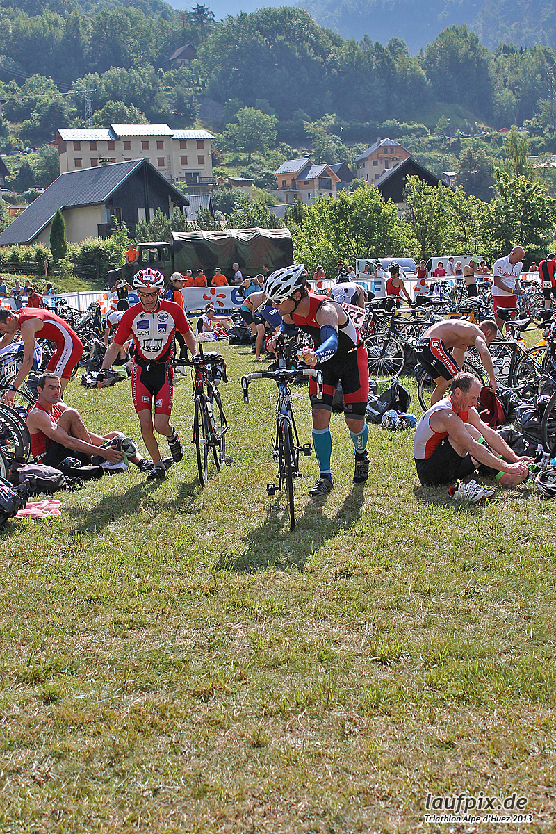 Triathlon Alpe d'Huez - Bike 2013 Foto (11)