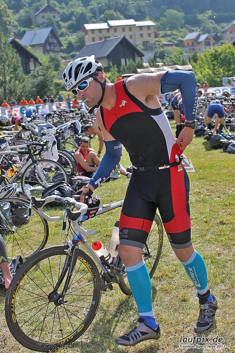 Triathlon Alpe d'Huez - Bike 2013 Foto (13)