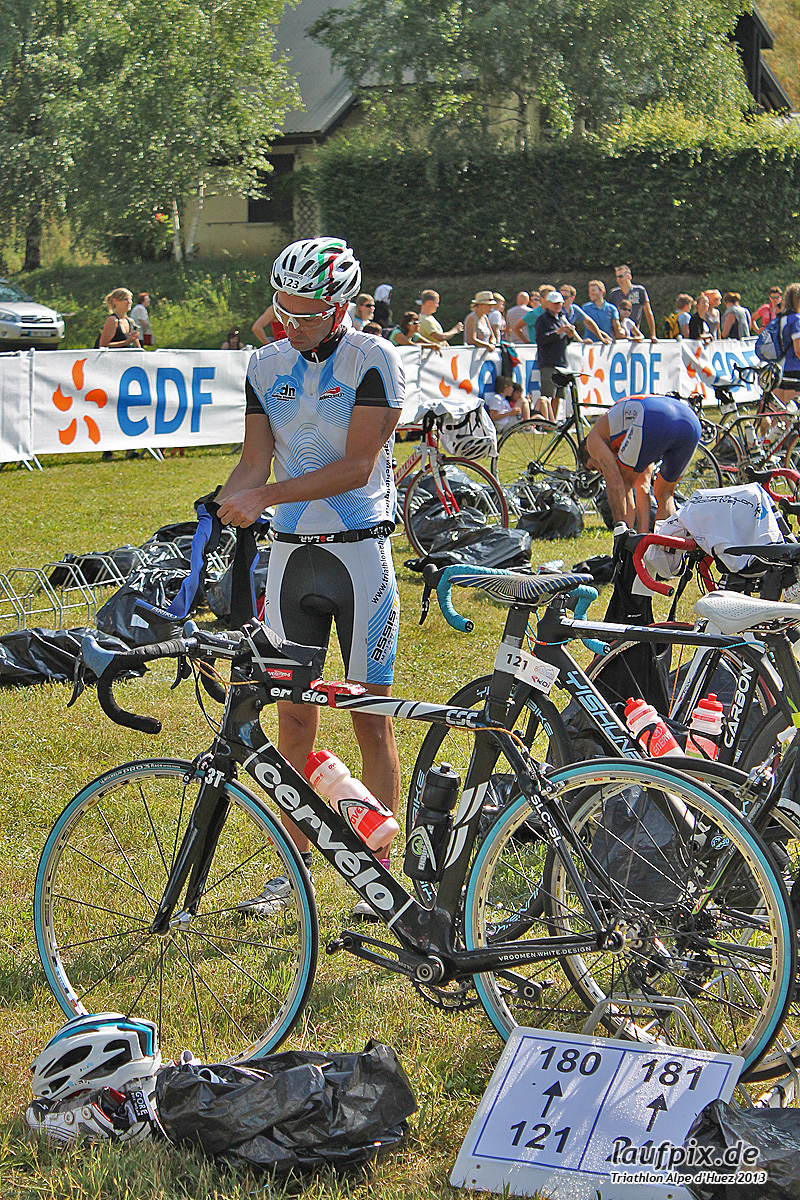 Triathlon Alpe d'Huez - Bike 2013 Foto (28)