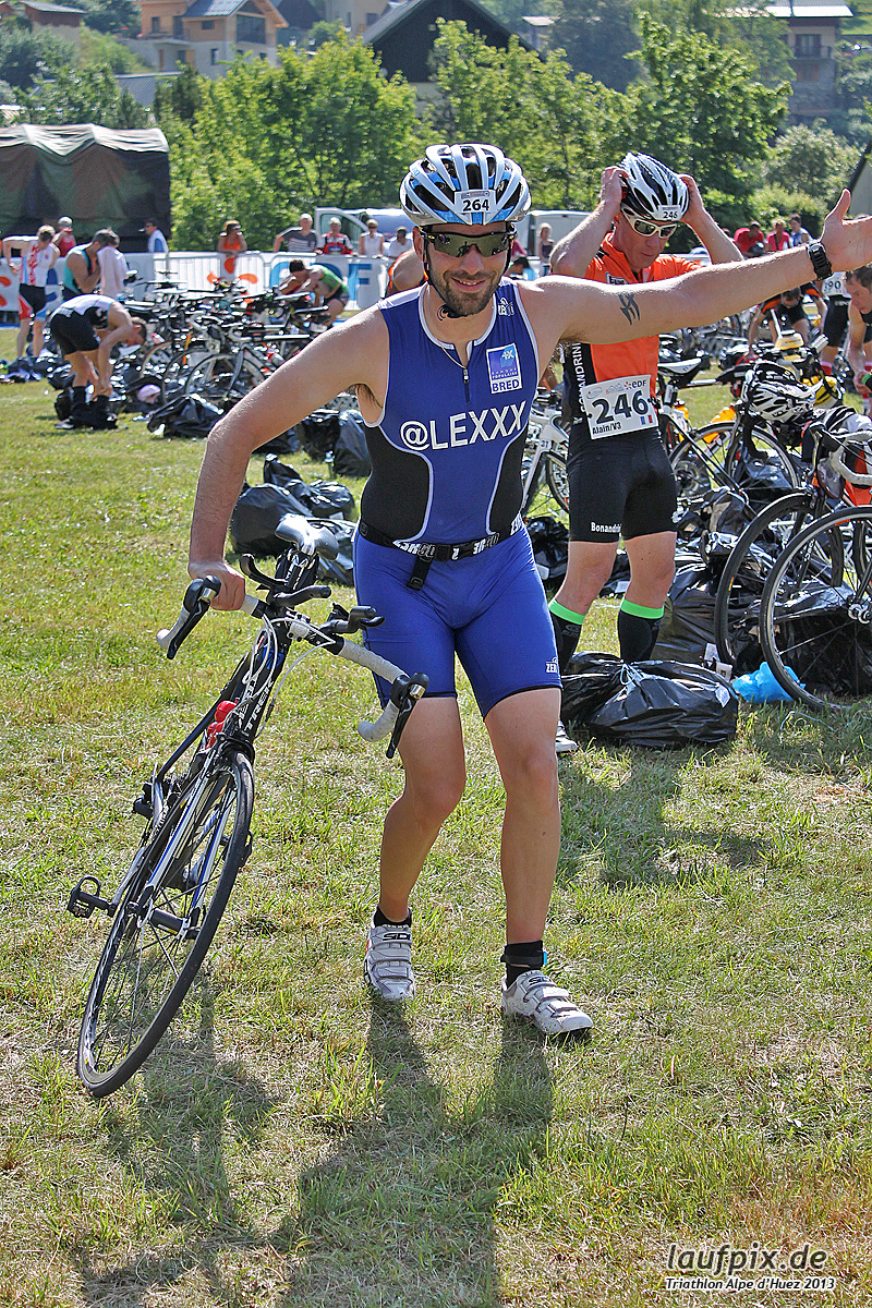 Triathlon Alpe d'Huez - Bike 2013 Foto (29)