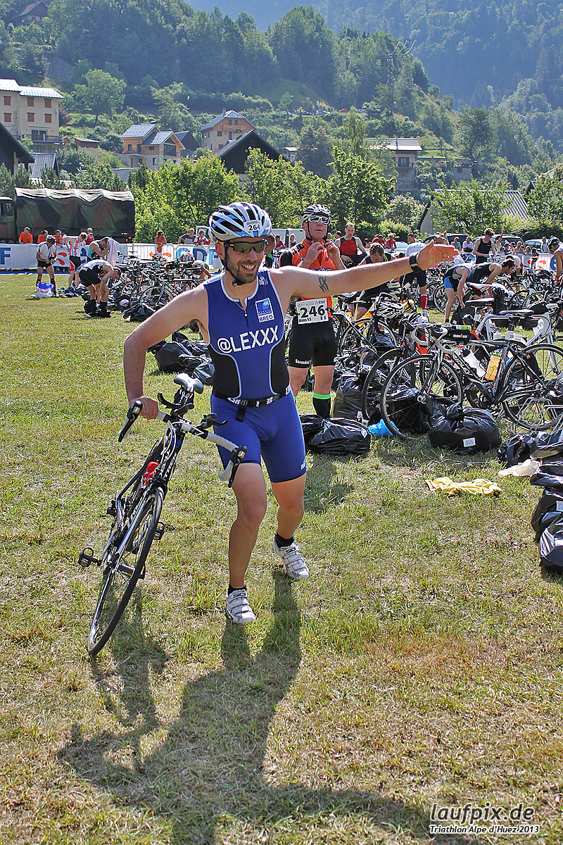 Triathlon Alpe d'Huez - Bike 2013 Foto (30)