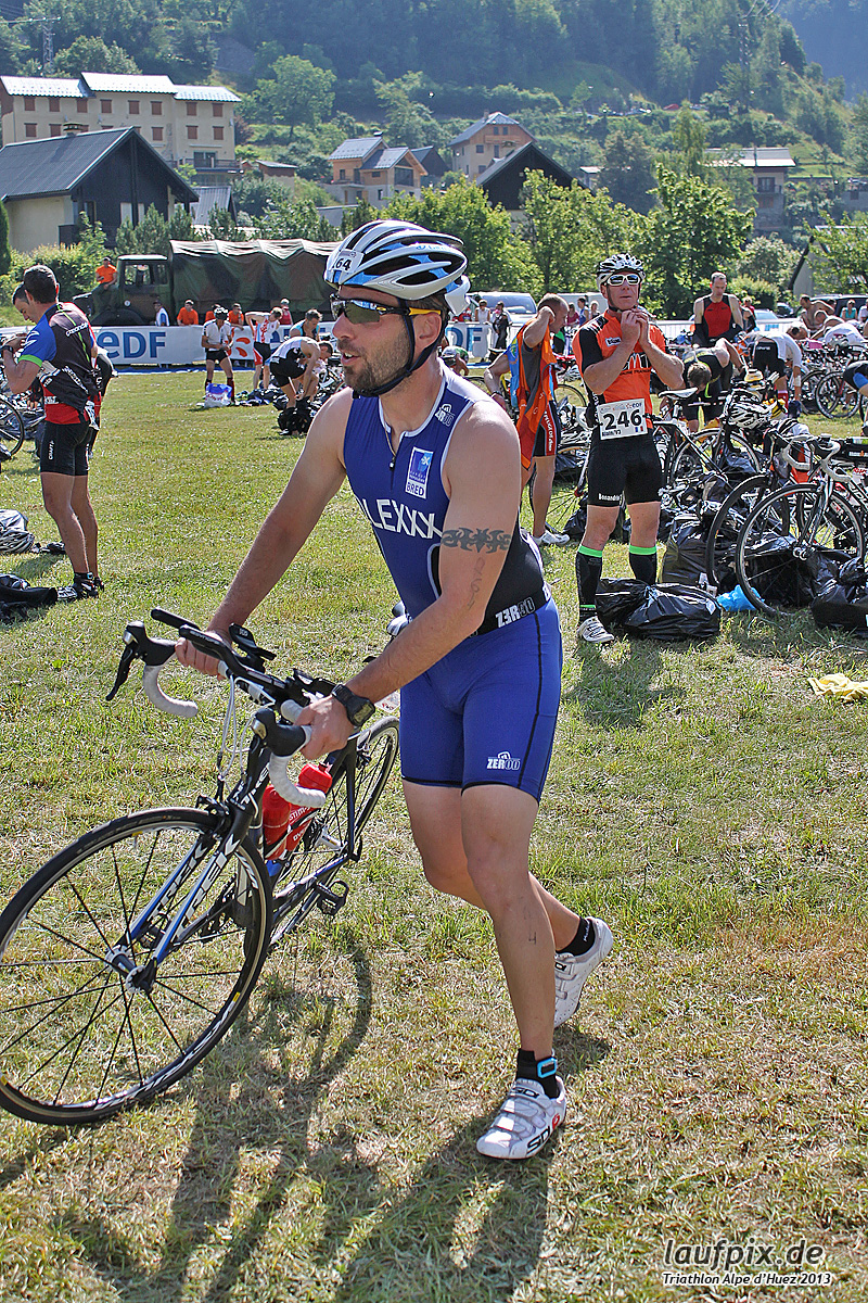Triathlon Alpe d'Huez - Bike 2013 Foto (31)