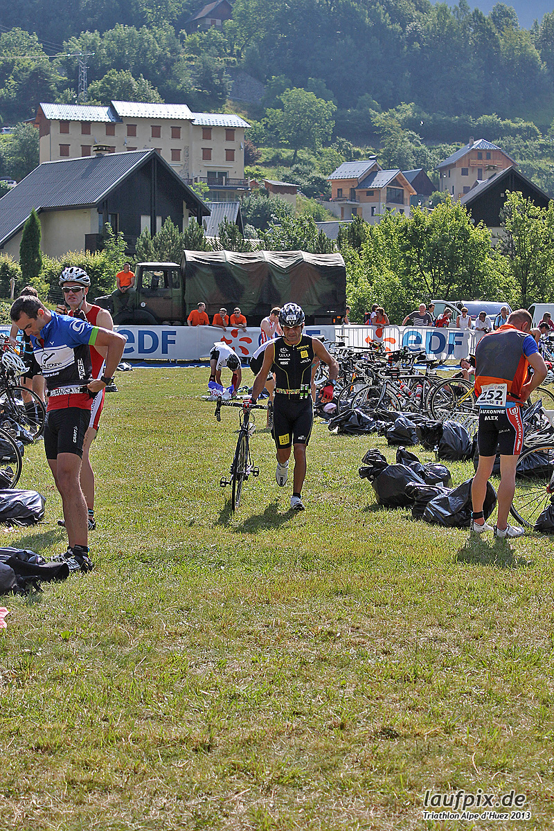 Triathlon Alpe d'Huez - Bike 2013 Foto (32)
