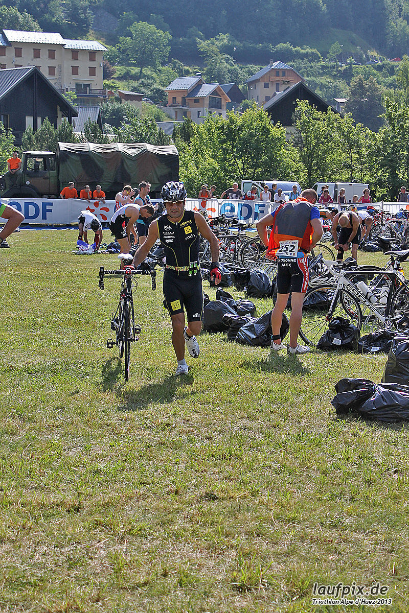 Triathlon Alpe d'Huez - Bike 2013 Foto (33)