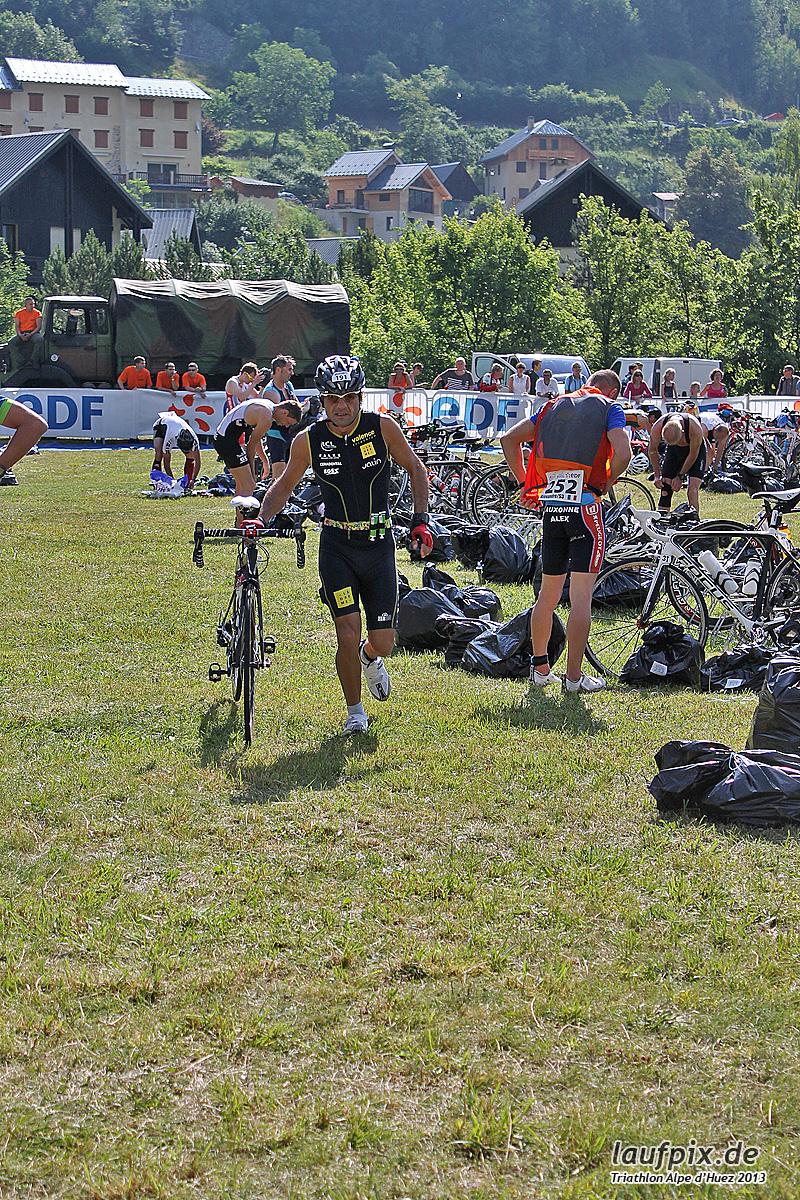 Triathlon Alpe d'Huez - Bike 2013 Foto (33)