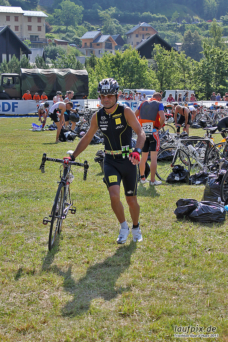 Triathlon Alpe d'Huez - Bike 2013 Foto (34)