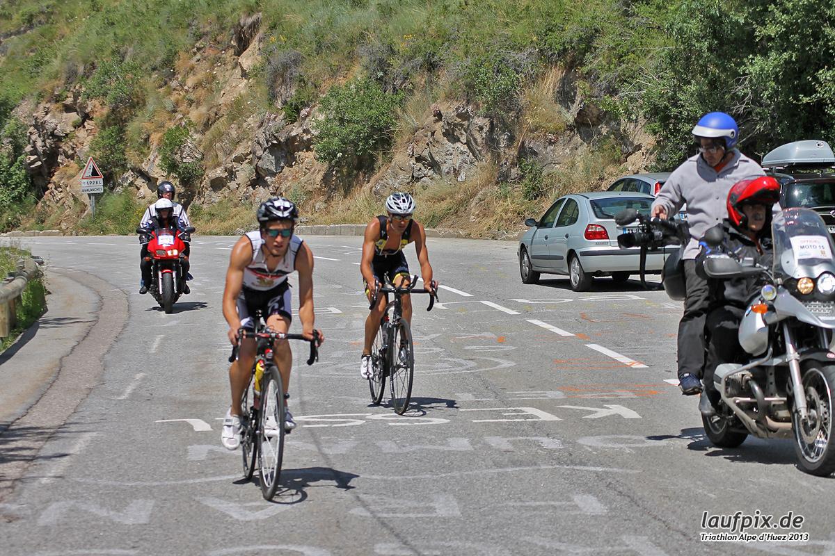 Triathlon Alpe d'Huez - Bike 2013 Foto (35)