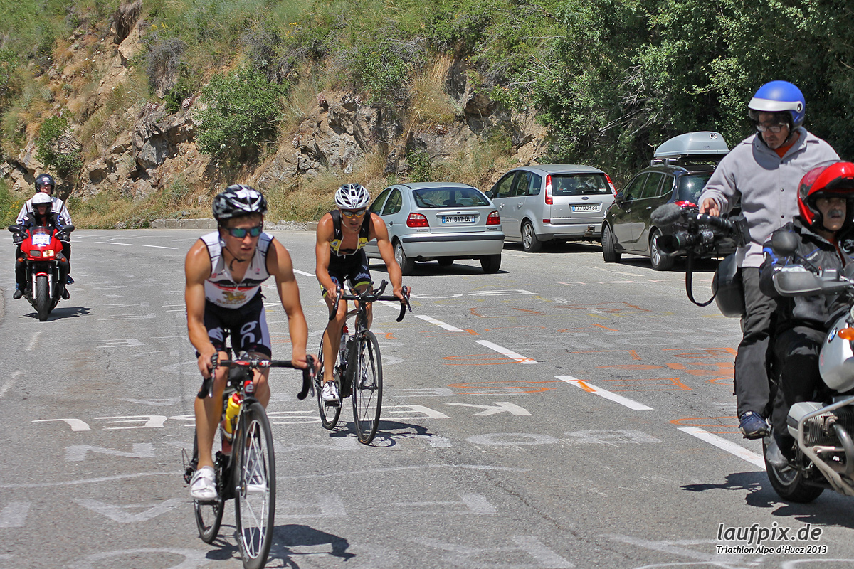 Triathlon Alpe d'Huez - Bike 2013 Foto (36)