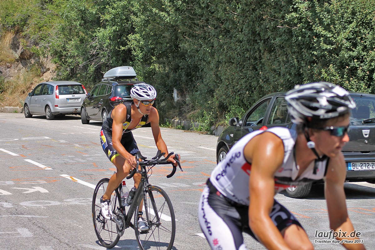 Triathlon Alpe d'Huez - Bike 2013 Foto (37)