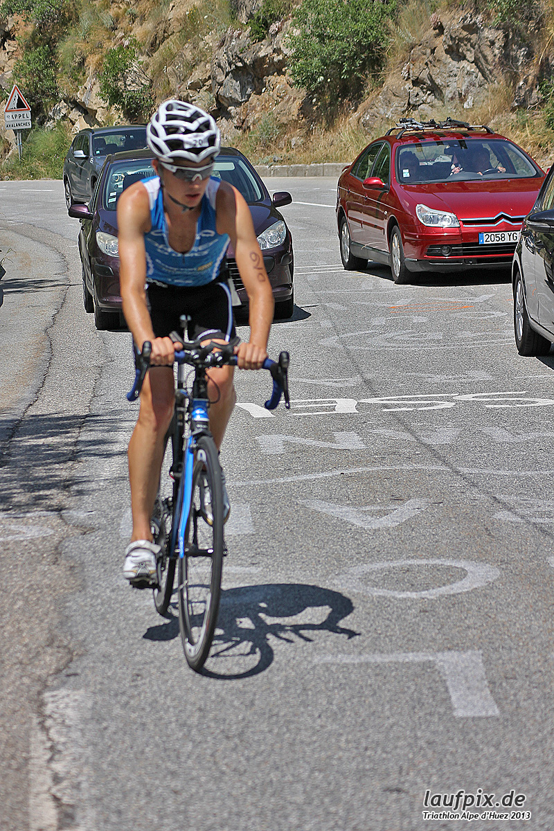 Triathlon Alpe d'Huez - Bike 2013 - 43