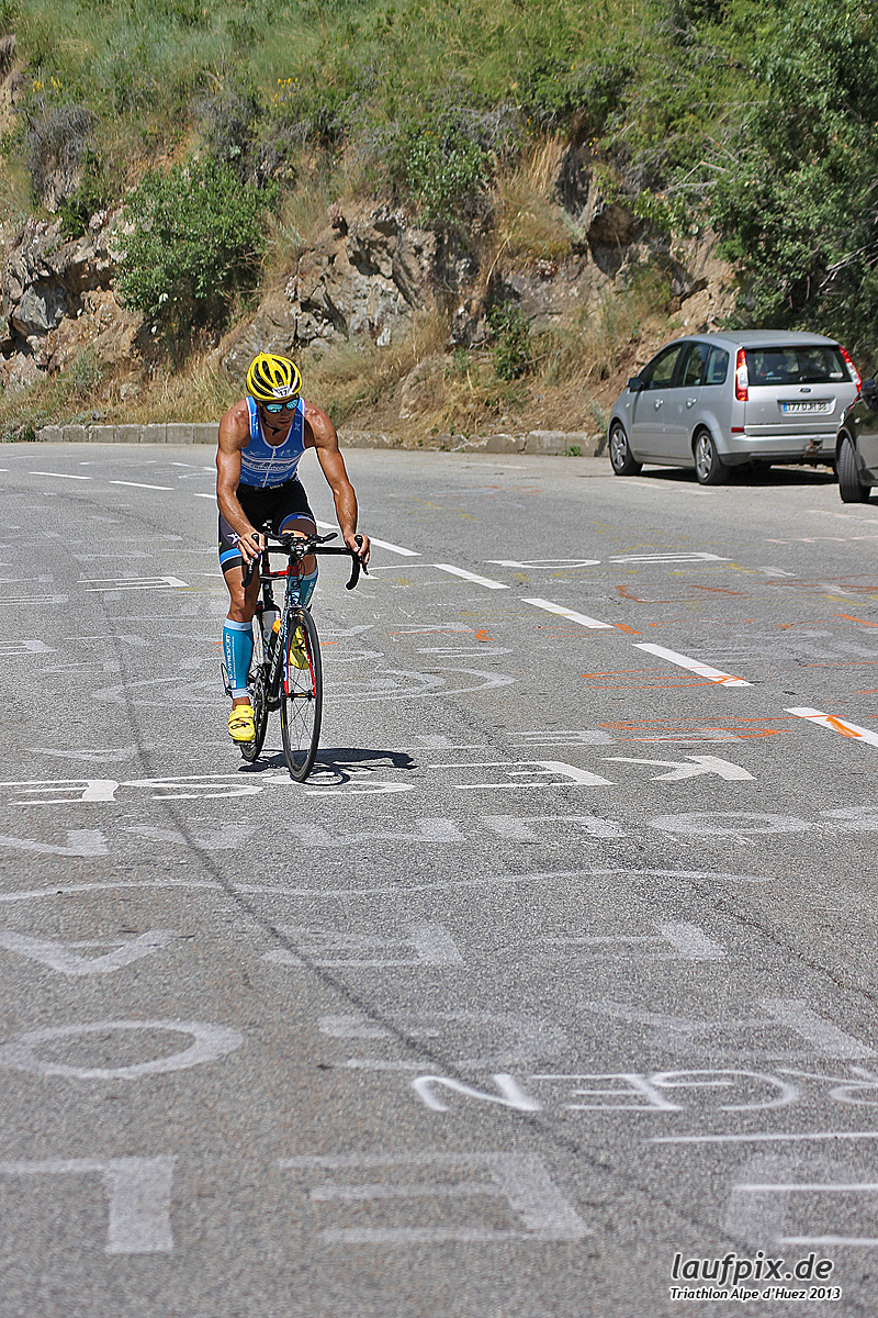 Triathlon Alpe d'Huez - Bike 2013 Foto (47)