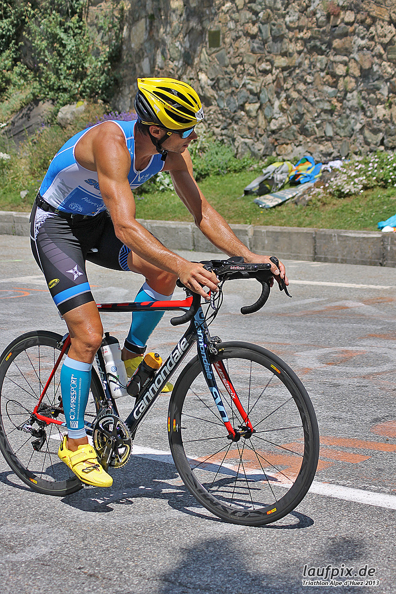 Triathlon Alpe d'Huez - Bike 2013 Foto (50)