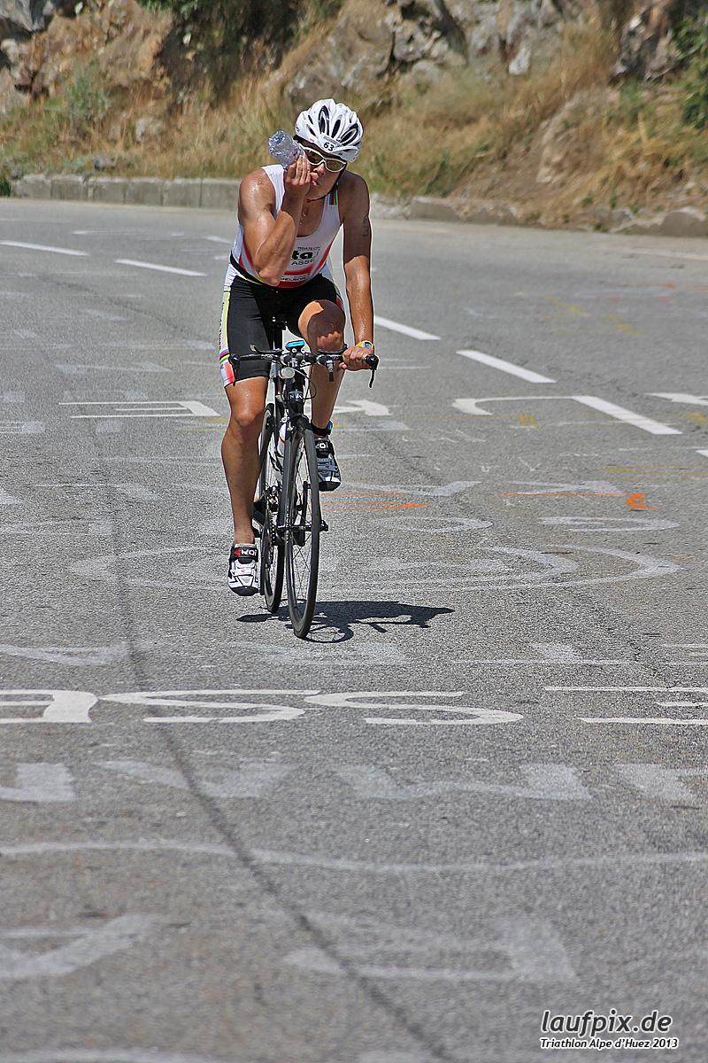 Triathlon Alpe d'Huez - Bike 2013 Foto (51)