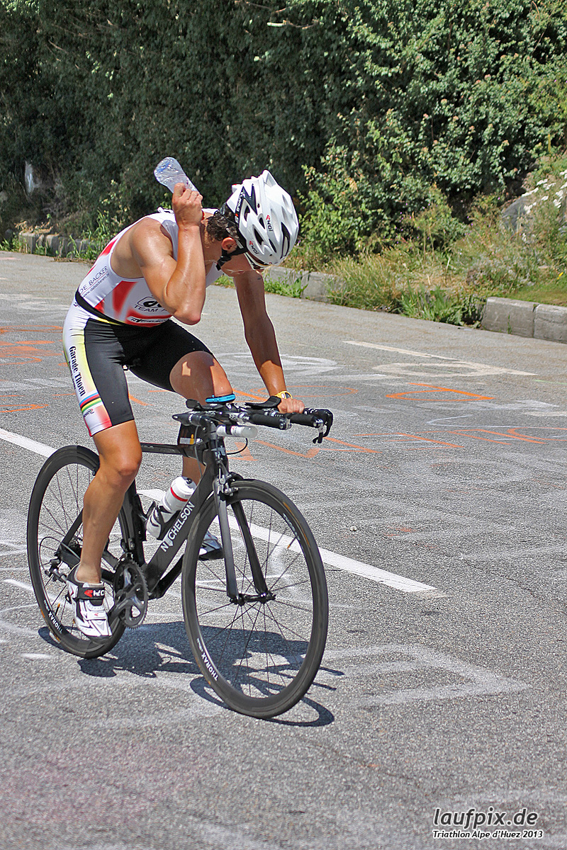 Triathlon Alpe d'Huez - Bike 2013 Foto (54)