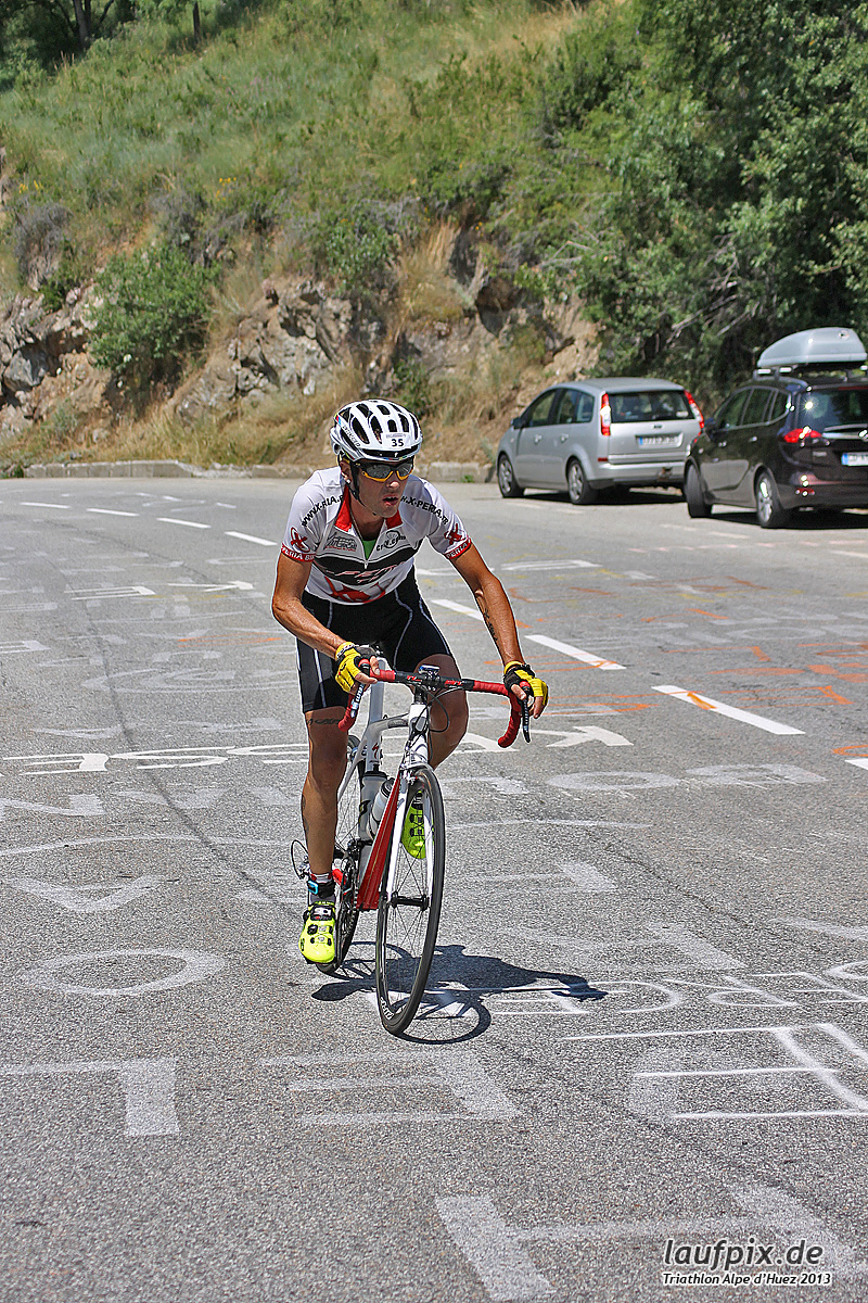 Triathlon Alpe d'Huez - Bike 2013 - 55