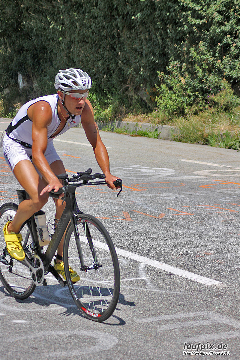 Triathlon Alpe d'Huez - Bike 2013 Foto (59)