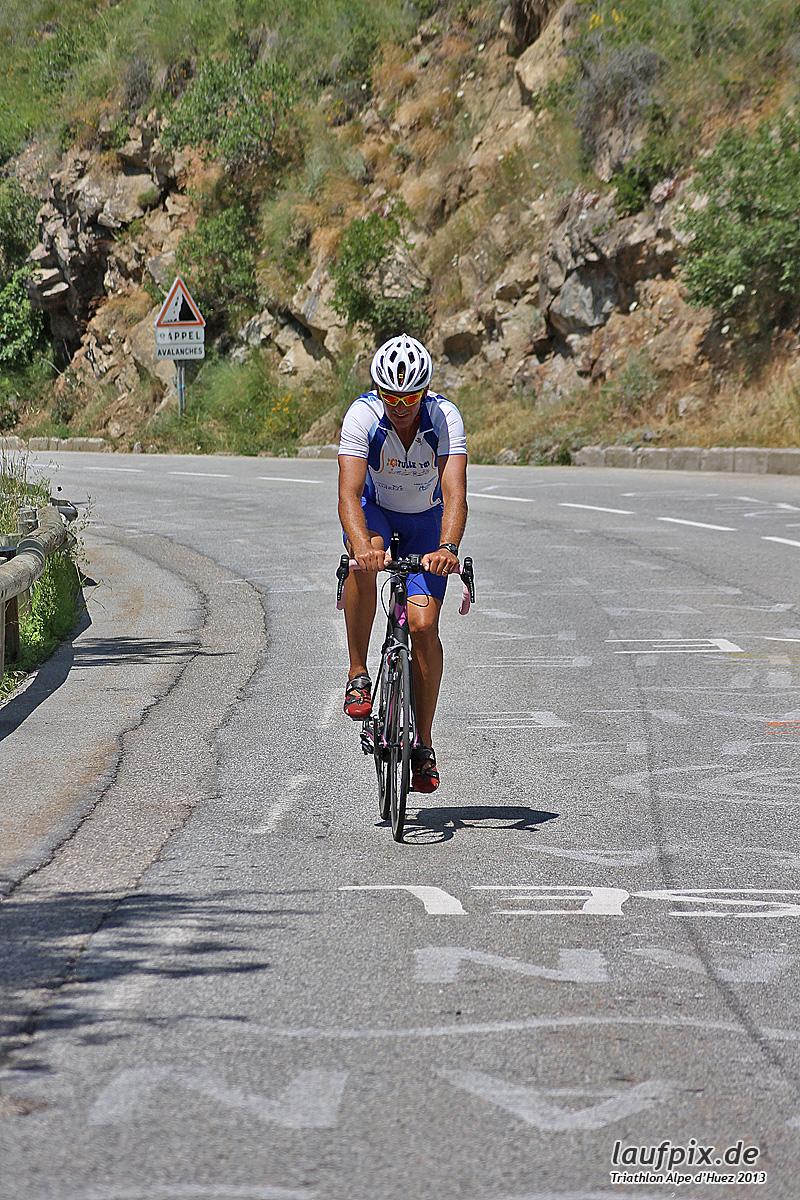 Triathlon Alpe d'Huez - Bike 2013 Foto (60)