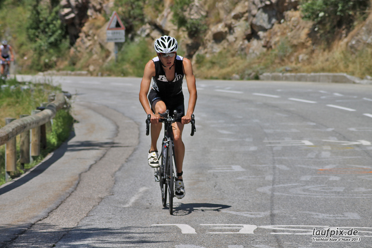 Triathlon Alpe d'Huez - Bike 2013 Foto (76)