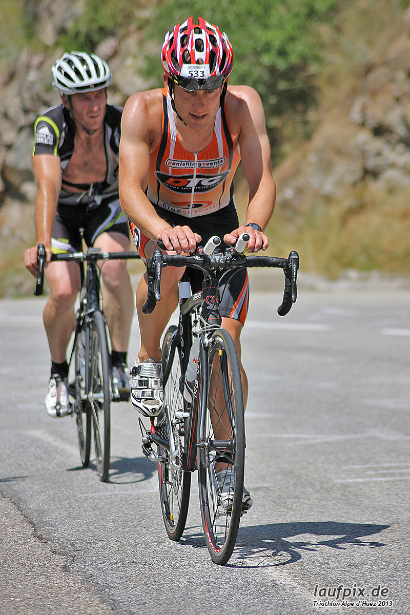 Triathlon Alpe d'Huez - Bike 2013 Foto (147)