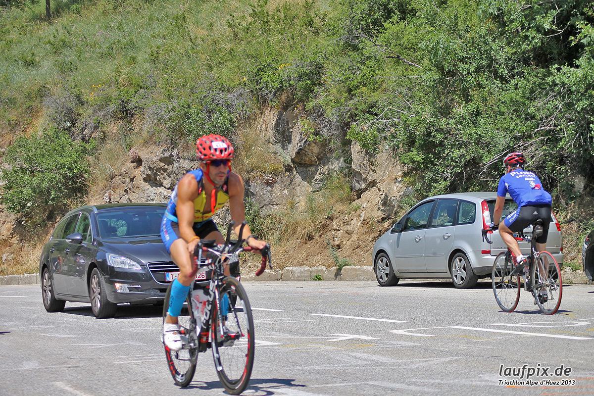 Triathlon Alpe d'Huez - Bike 2013 - 167
