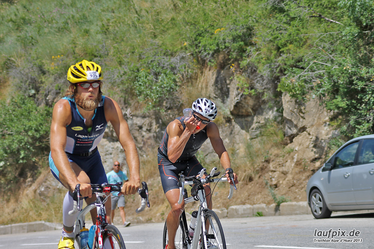 Triathlon Alpe d'Huez - Bike 2013 Foto (219)