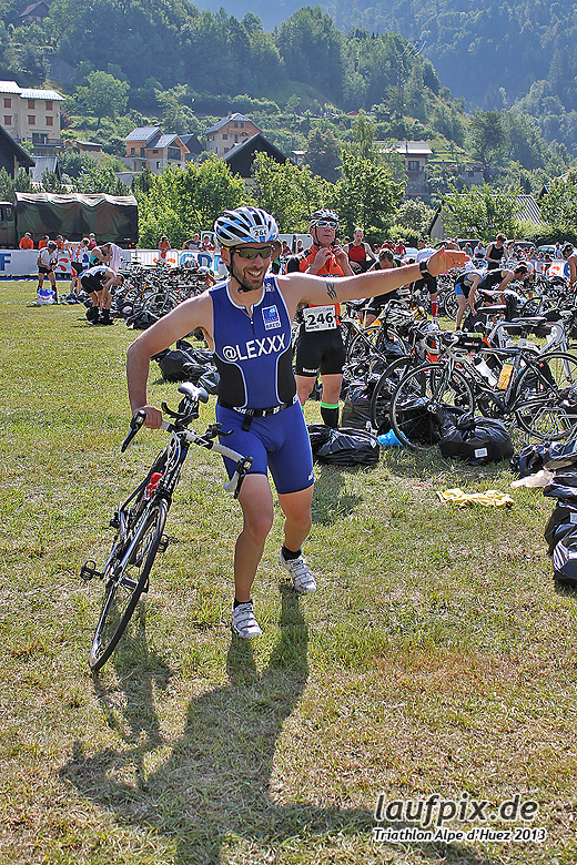 Triathlon Alpe d'Huez - Bike 2013 - 30