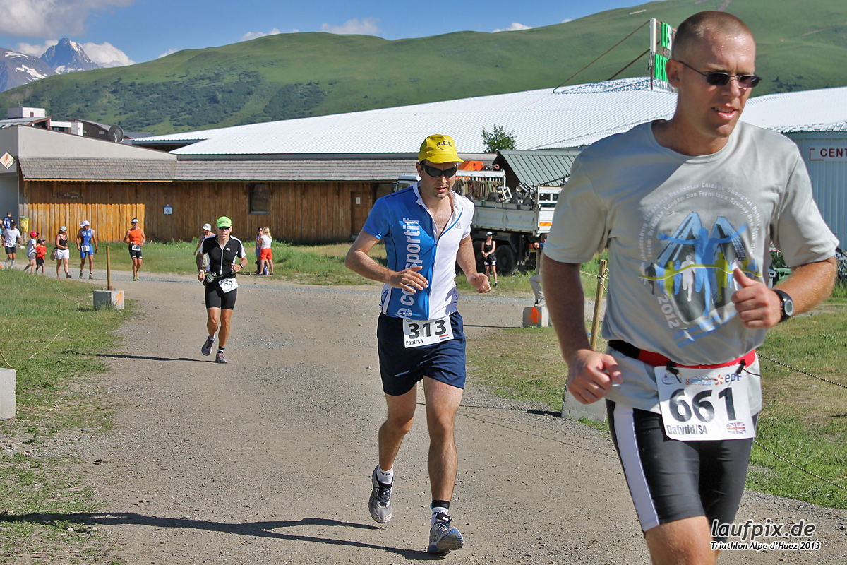 Triathlon Alpe d'Huez - Run 2013 Foto (5)