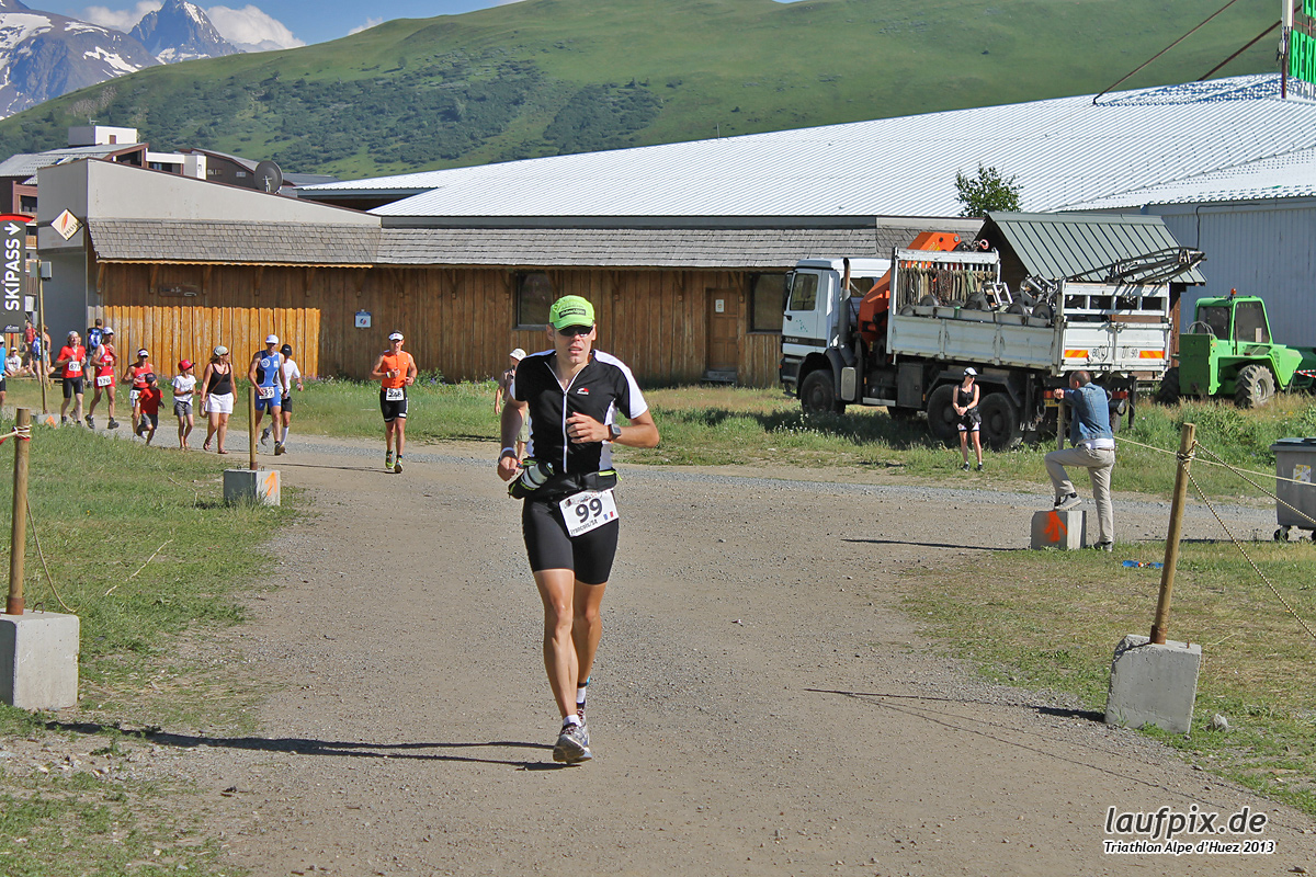 Triathlon Alpe d'Huez - Run 2013 Foto (7)