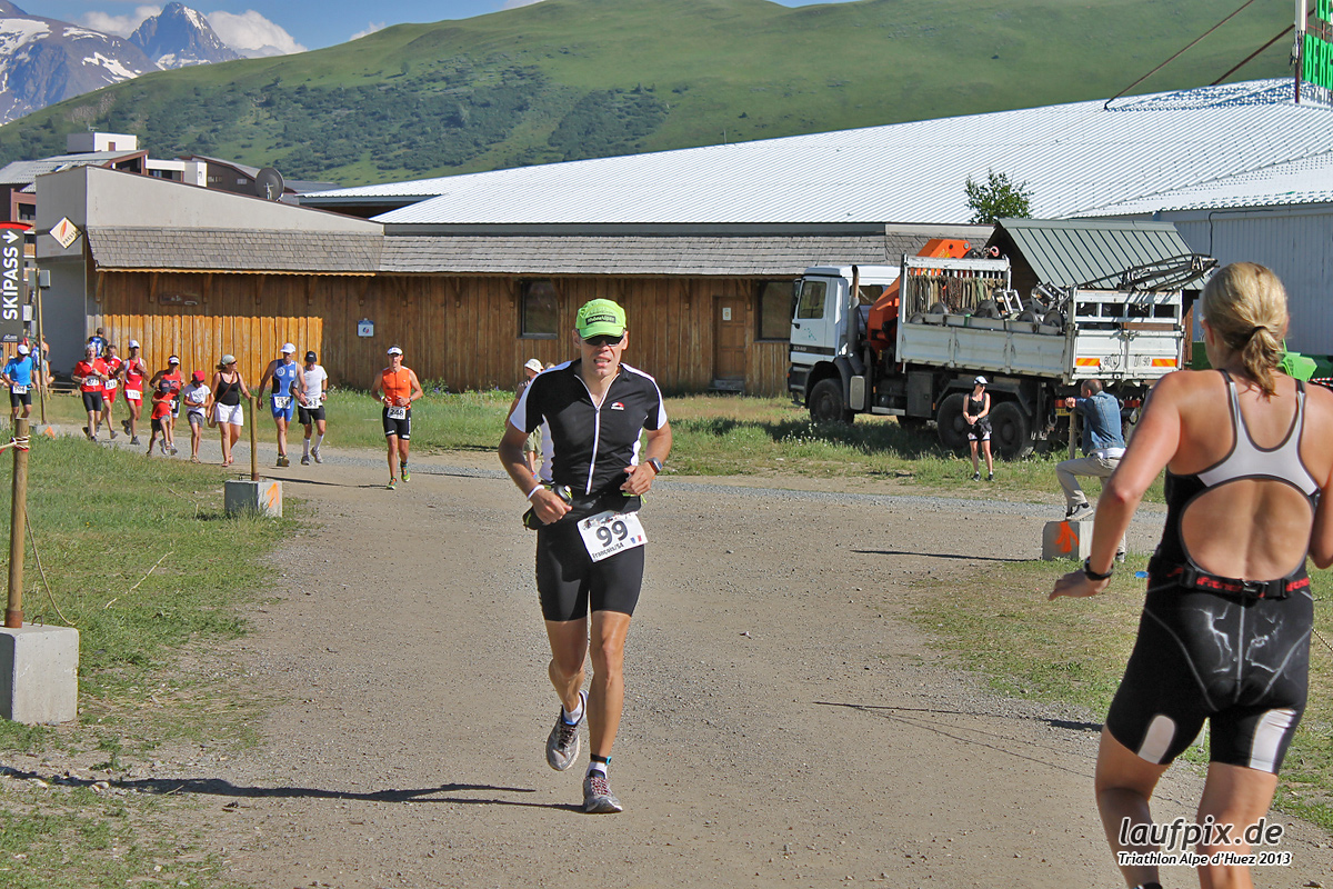Triathlon Alpe d'Huez - Run 2013 Foto (8)