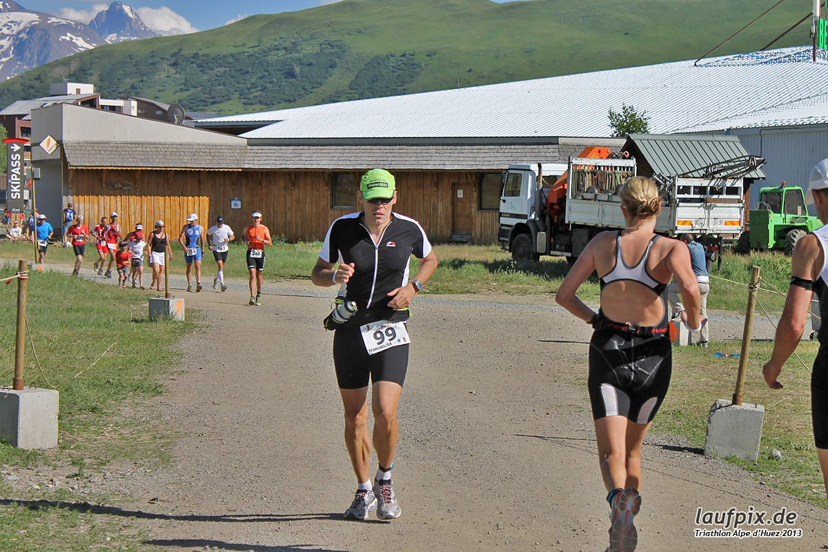 Triathlon Alpe d'Huez - Run 2013 Foto (9)