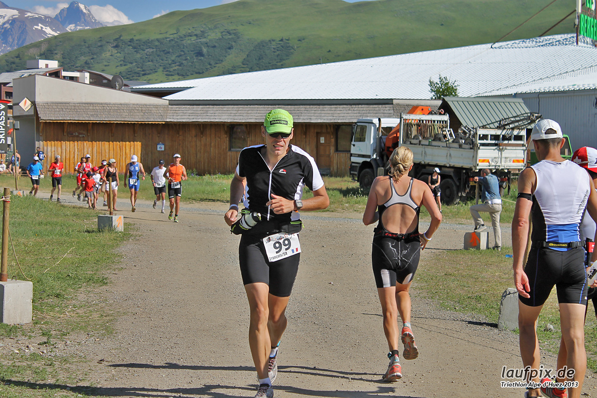 Triathlon Alpe d'Huez - Run 2013 Foto (10)