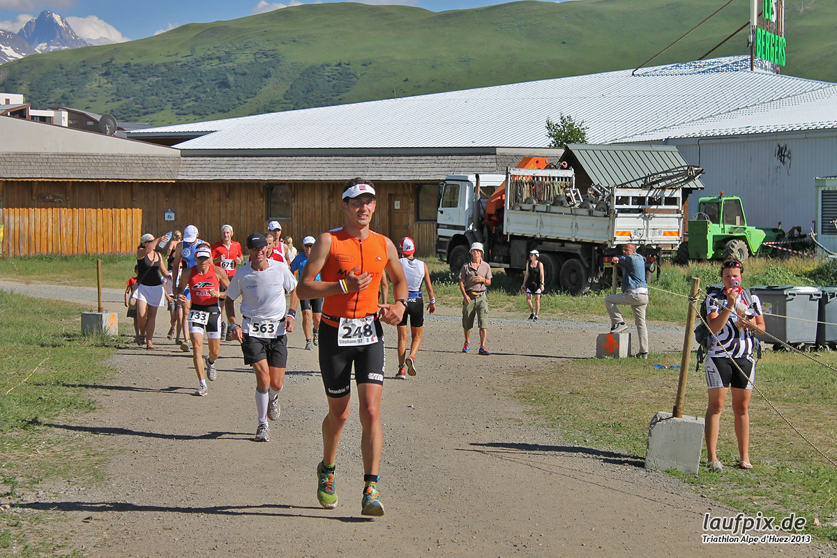 Triathlon Alpe d'Huez - Run 2013 Foto (12)