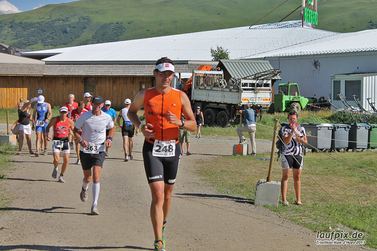 Triathlon Alpe d'Huez - Run 2013 Foto (13)