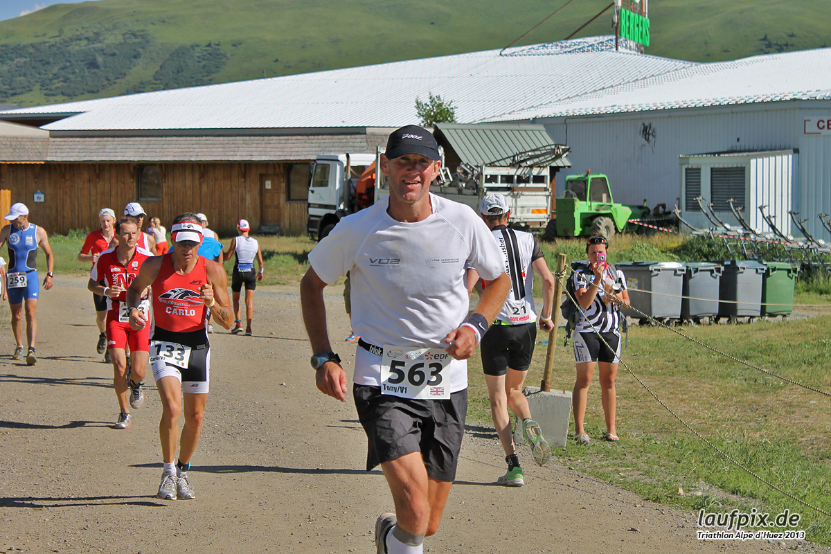 Triathlon Alpe d'Huez - Run 2013 Foto (16)