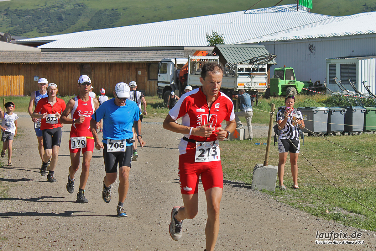 Triathlon Alpe d'Huez - Run 2013 Foto (19)