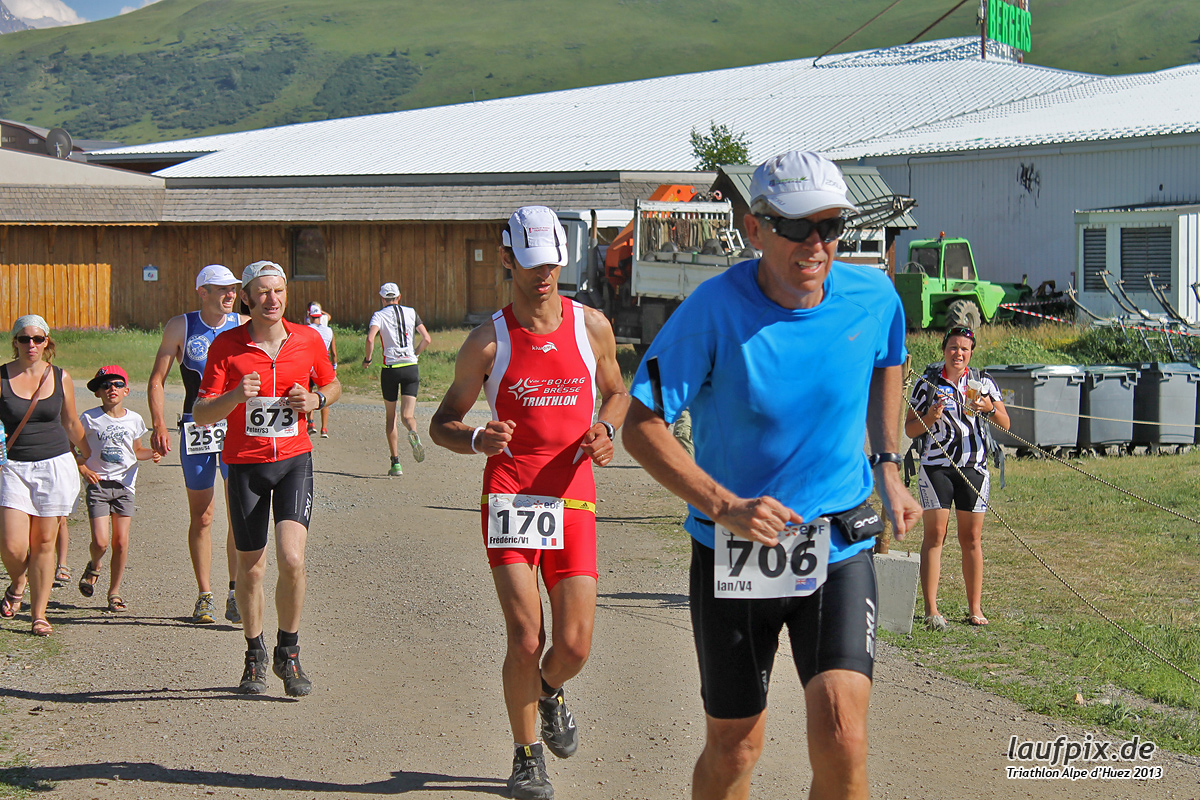 Triathlon Alpe d'Huez - Run 2013 Foto (22)