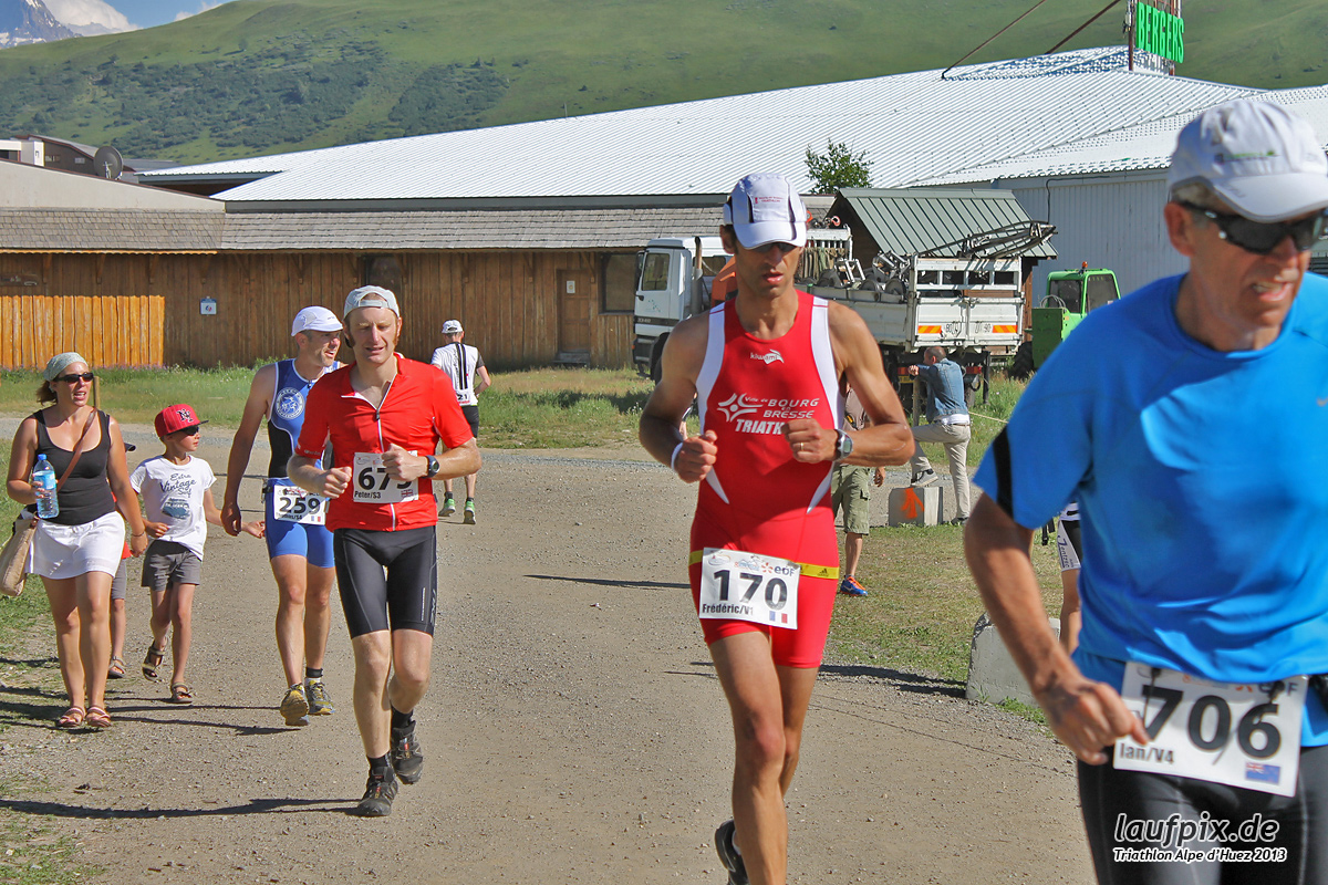 Triathlon Alpe d'Huez - Run 2013 Foto (23)