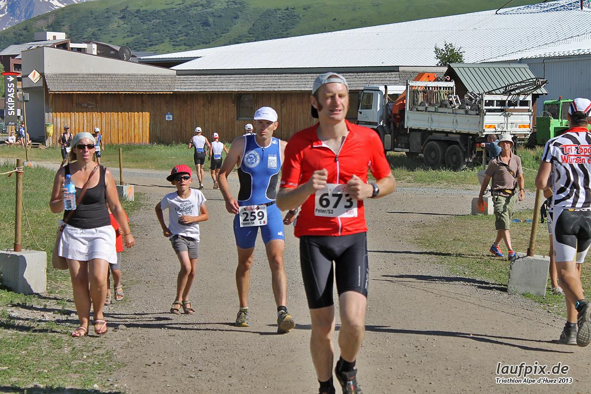 Triathlon Alpe d'Huez - Run 2013 Foto (25)