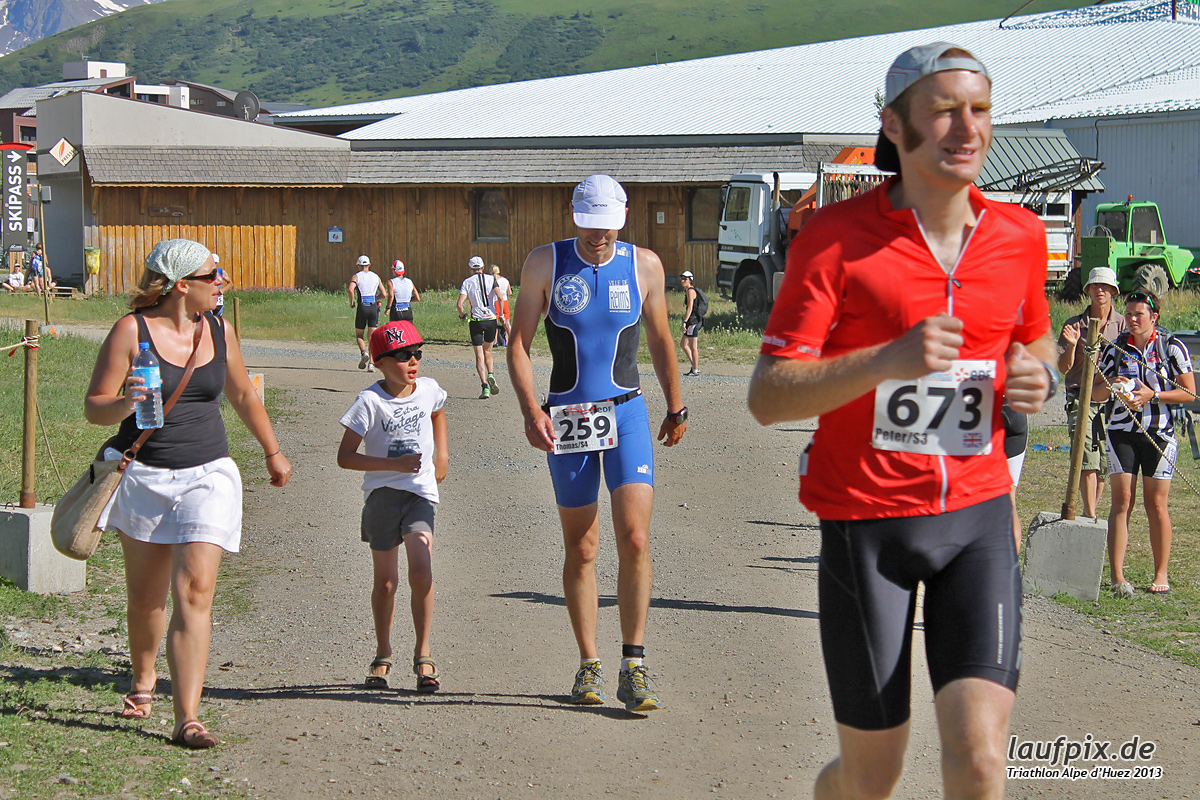 Triathlon Alpe d'Huez - Run 2013 Foto (26)