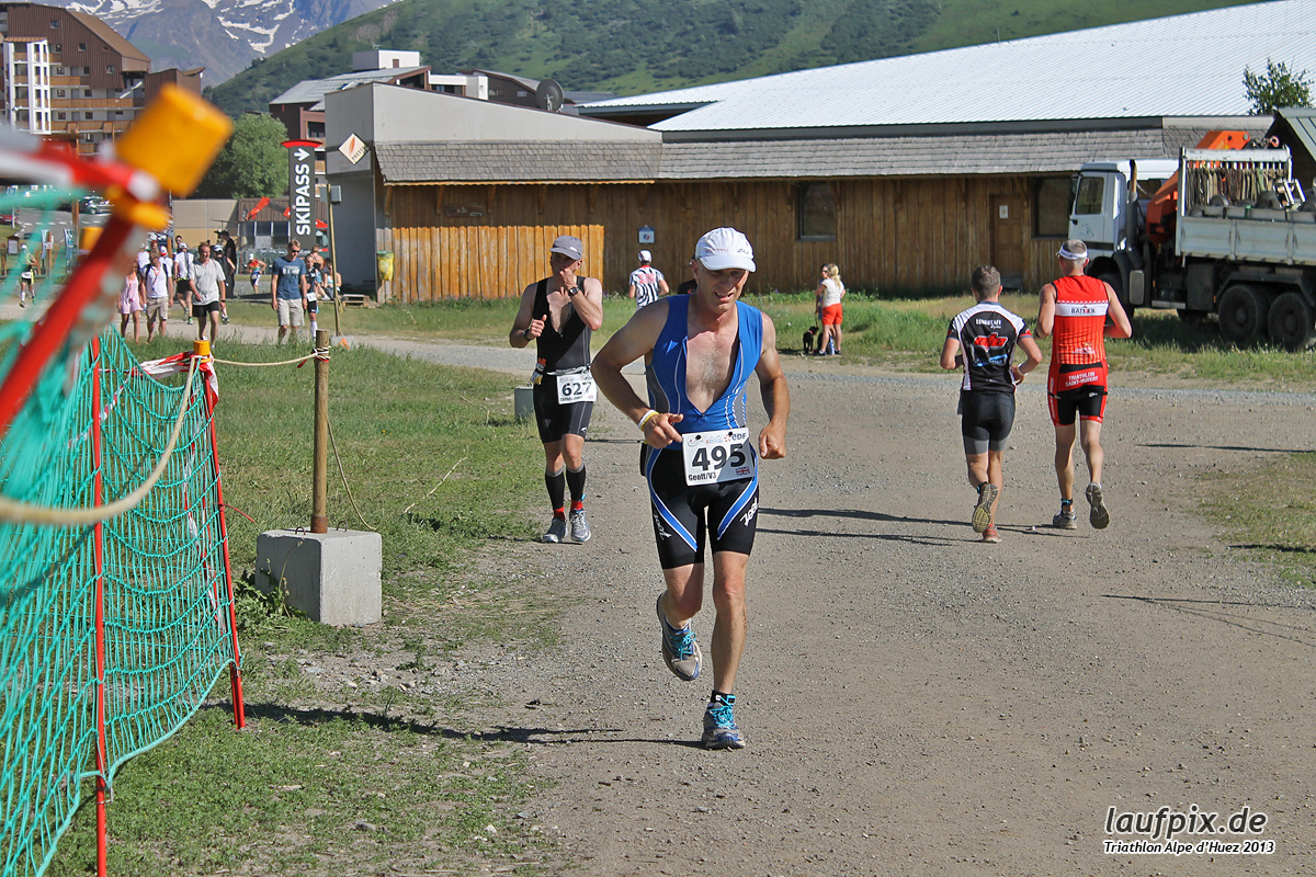 Triathlon Alpe d'Huez - Run 2013 Foto (29)
