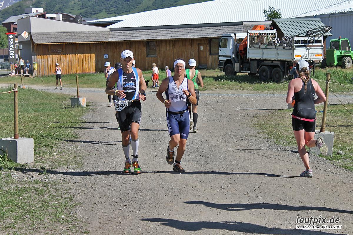 Triathlon Alpe d'Huez - Run 2013 Foto (38)