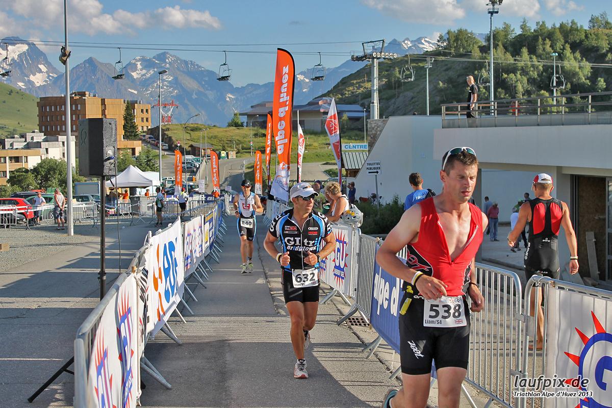 Triathlon Alpe d'Huez - Run 2013 Foto (129)