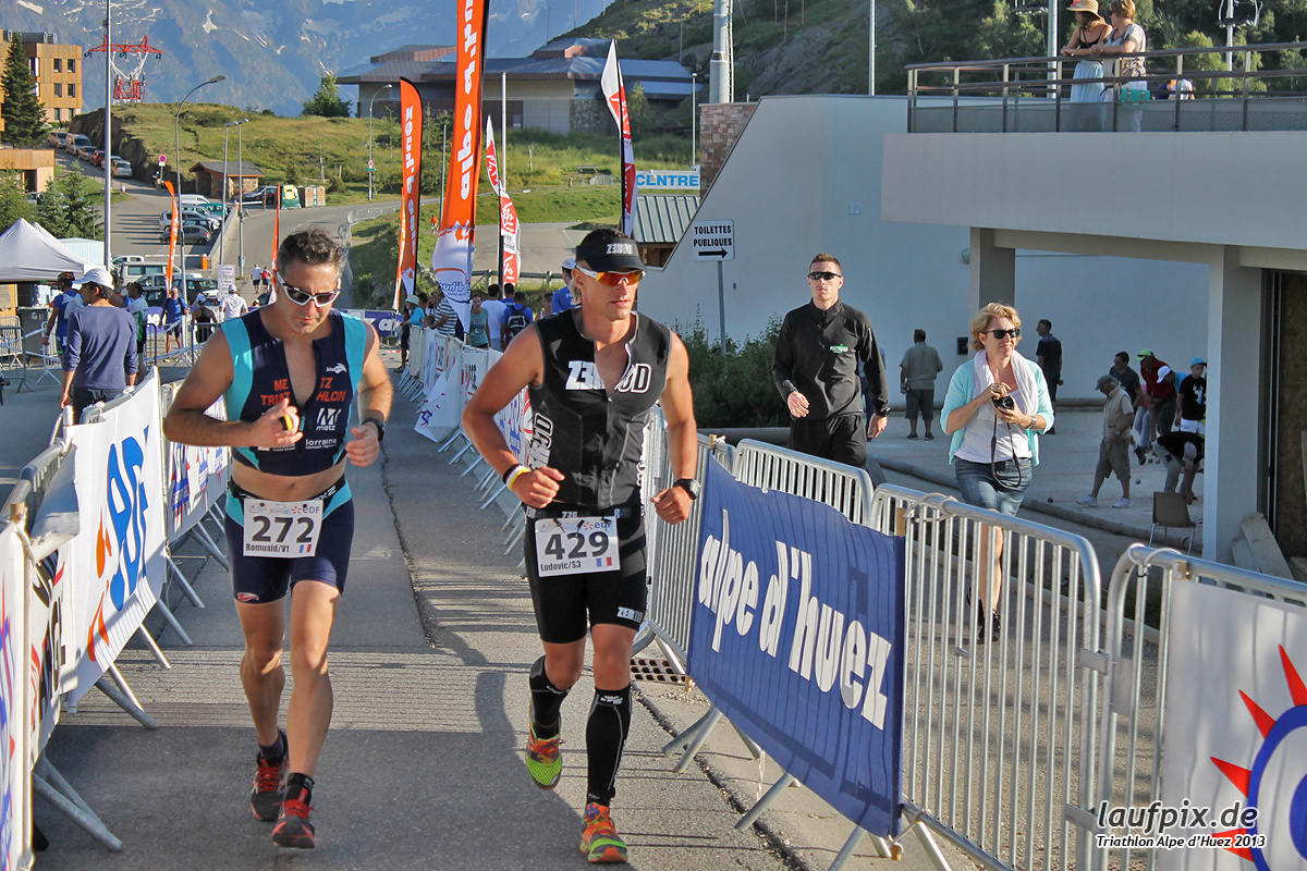 Triathlon Alpe d'Huez - Run 2013 Foto (244)
